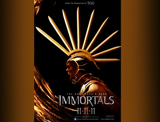 immortals; trailer.